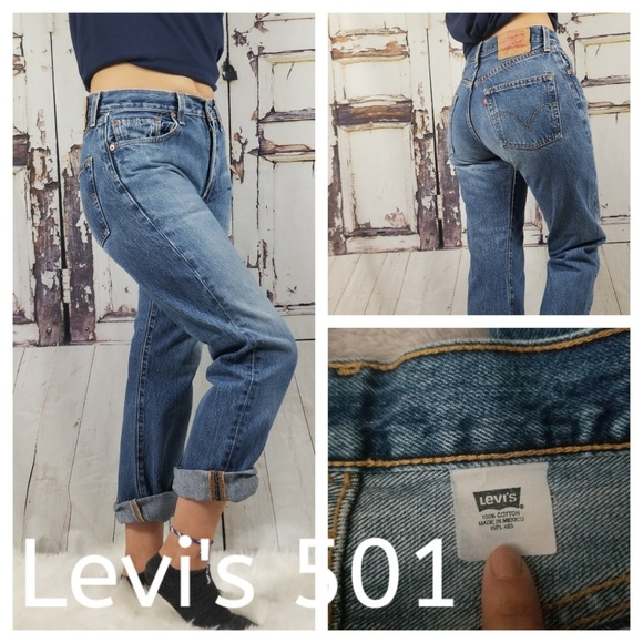 reputable site enjoy cheap price superior materials Levis 501 High Waisted Mom Jeans.